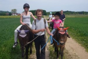 Reitschule Lillemor - Vater Kind Wanderritt